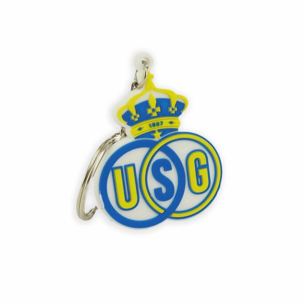 Topfanz Union Saint Gilles sleutelhanger in PVC