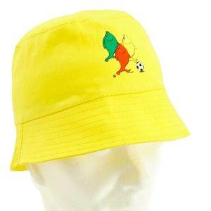 Chapeau de pecheur jaune