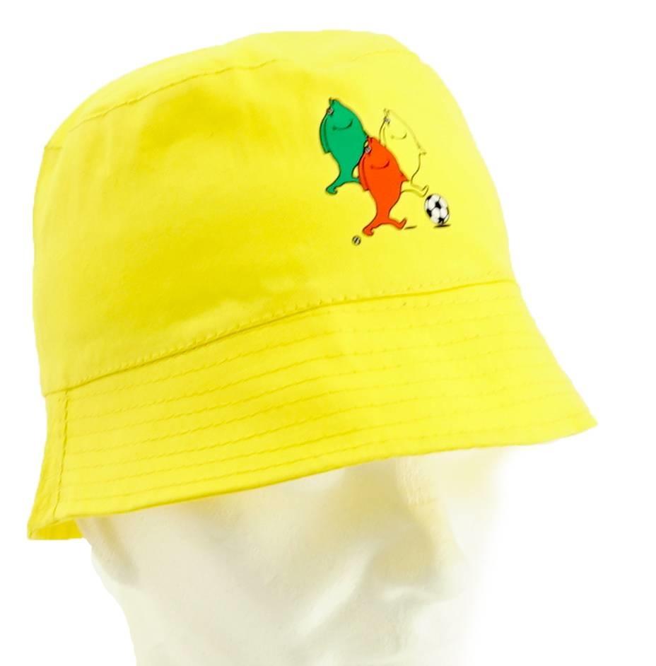 Topfanz Visserhoedje geel