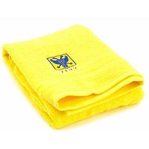 Handdoek geel L