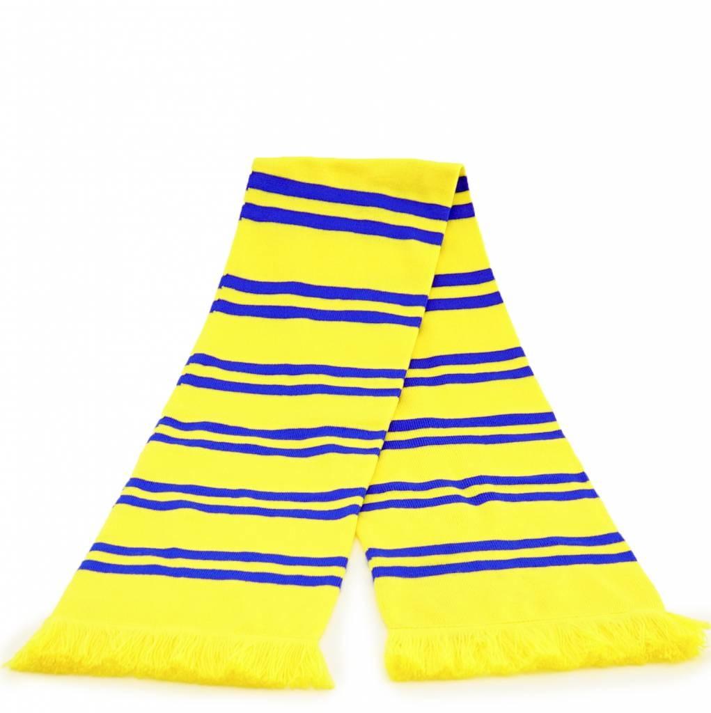 Topfanz Echarpe jaune avec line Bleu - STVV
