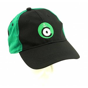Cap green/black