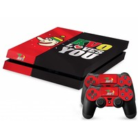 Topfanz Console Skin PS4 - KV Oostende