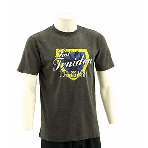 T-shirt dark grey schild - STVV