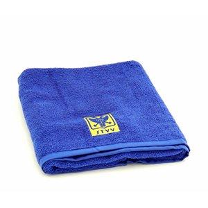 Handdoek blauw L