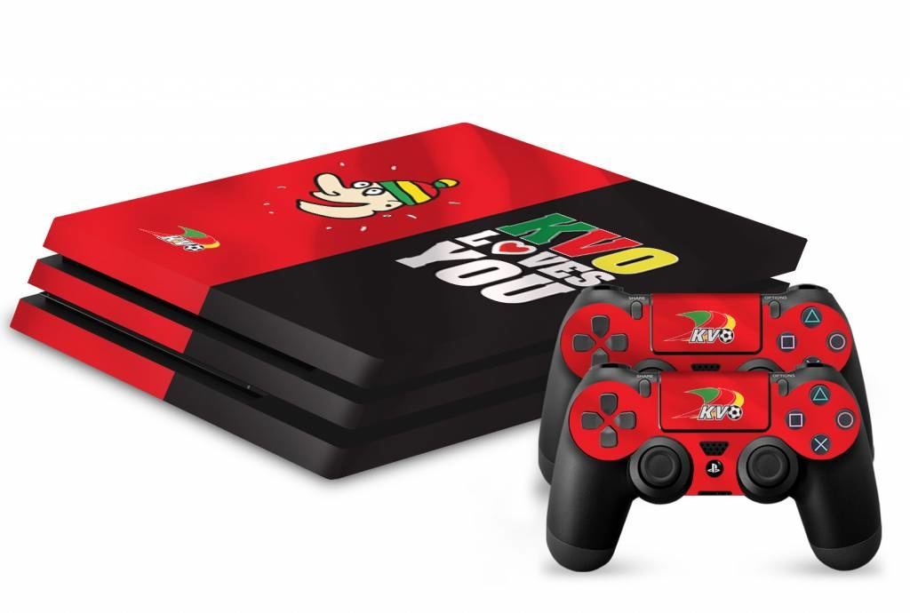 Topfanz Console Skin PS4 Pro - KV Oostende