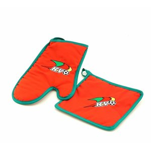 Oven mitt and potholder - KVO