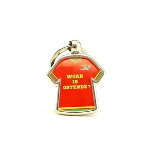 Keychain shirt 'Woar is Ostende'