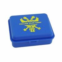 Topfanz Brooddoos - Yellow Blue Army - STVV