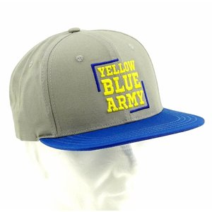 Snap Cap Yellow Blue Army  STVV