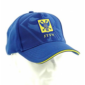Pet blauw debossed logo  STVV