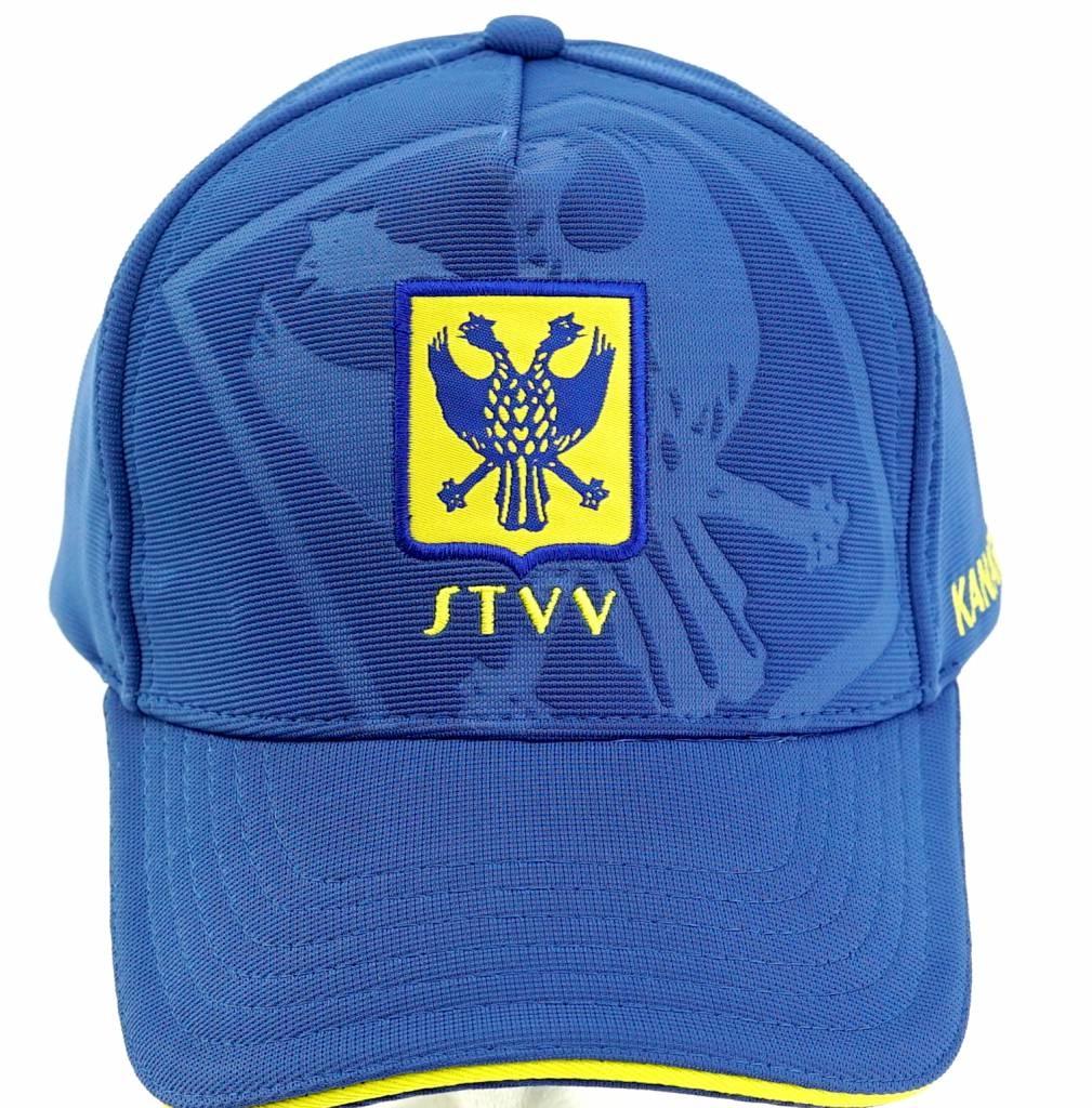 Topfanz Pet blauw debossed logo  STVV