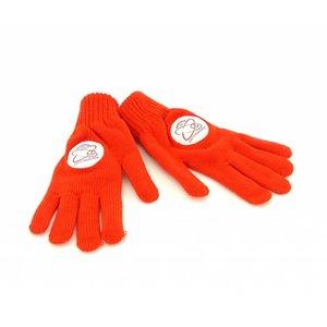 Handschoenen rood - M -