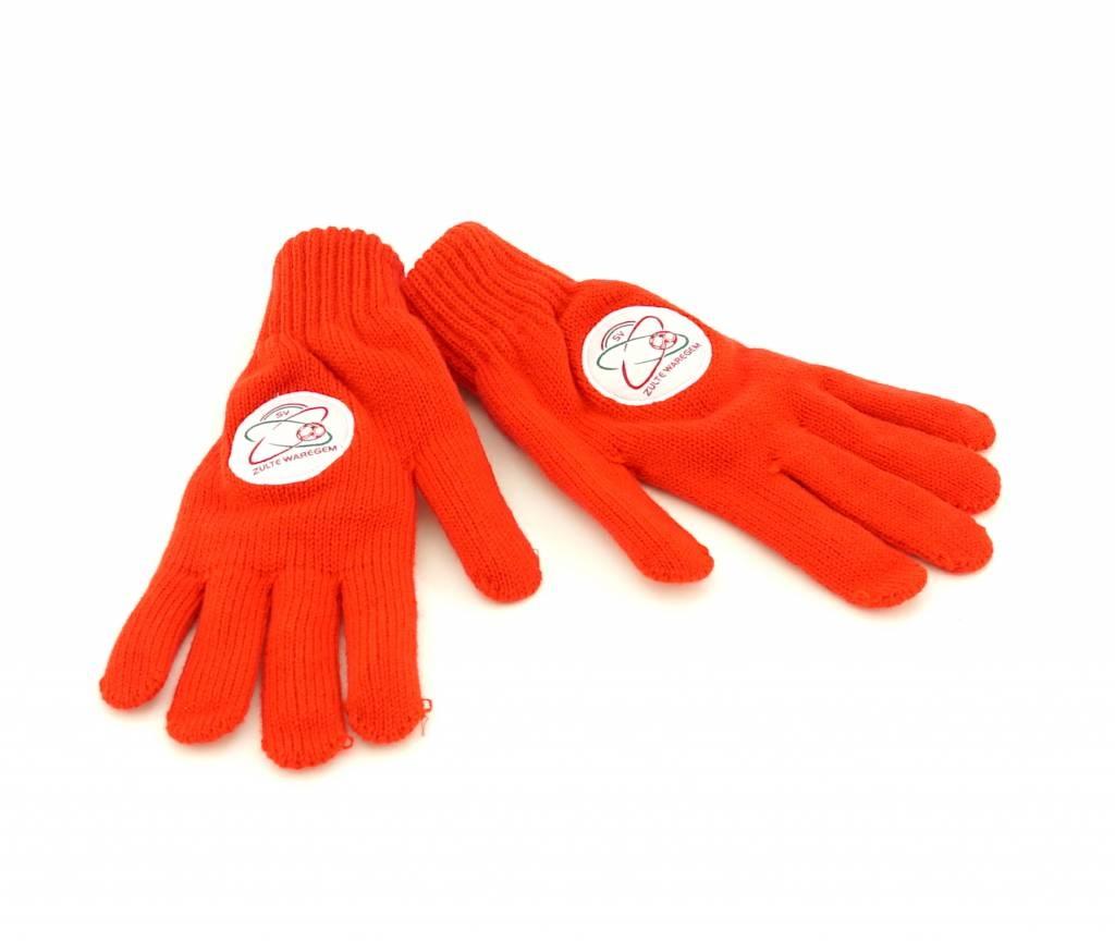 Topfanz Handschoenen rood - M- Zulte Waregem
