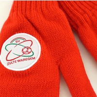 Topfanz Gloves red - M - Zulte Waregem
