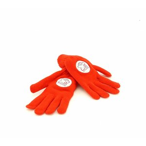 Handschoenen rood - S -