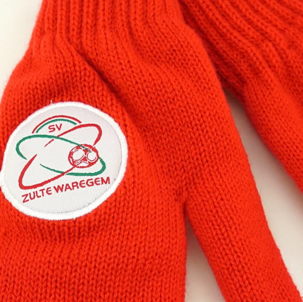 Topfanz Gloves red - S - Zulte Waregem