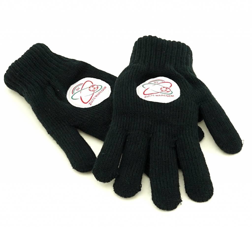 Topfanz Handschoenen zwart - L - Zulte Waregem