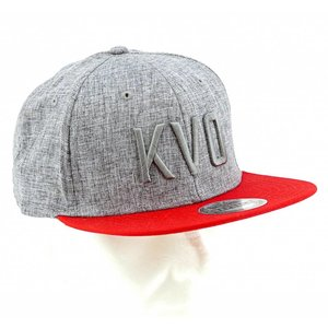 Casquette gris 3D - KVO