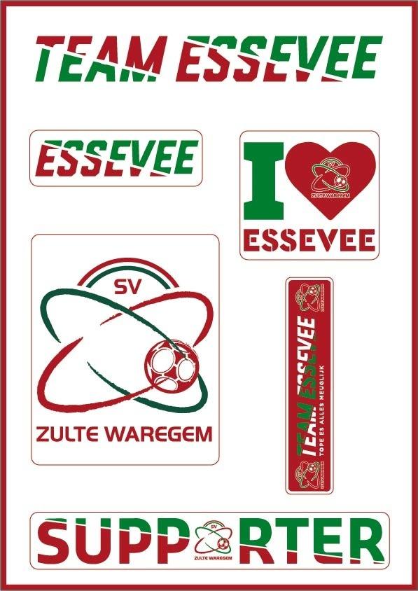 Topfanz Sticker set