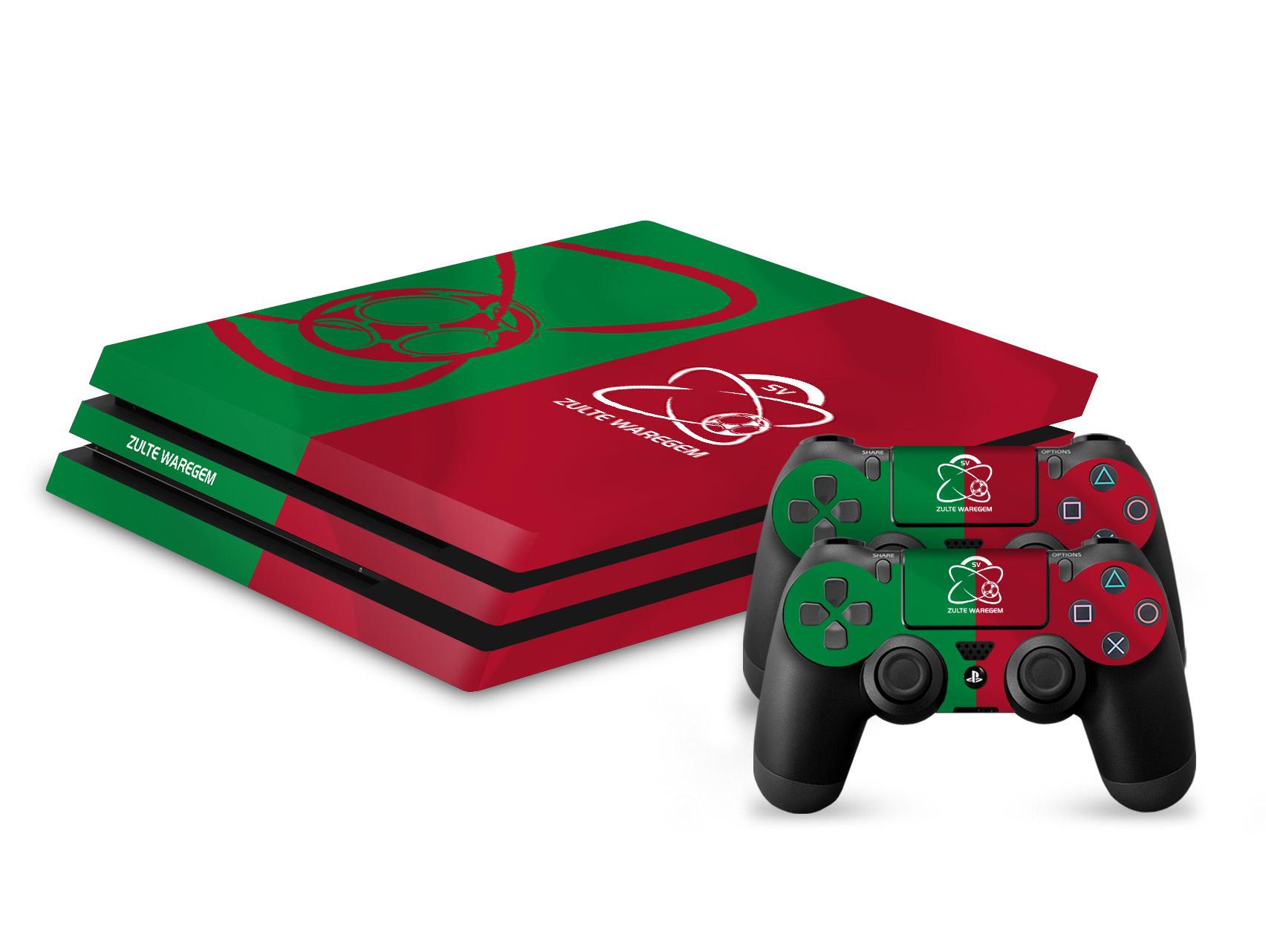 Topfanz Console Skin PS4 Pro - Zulte Waregem