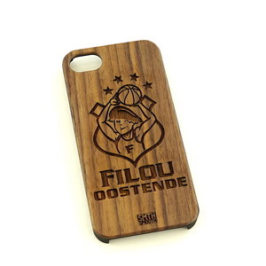 Phone Cover dark wood Filou Oostende