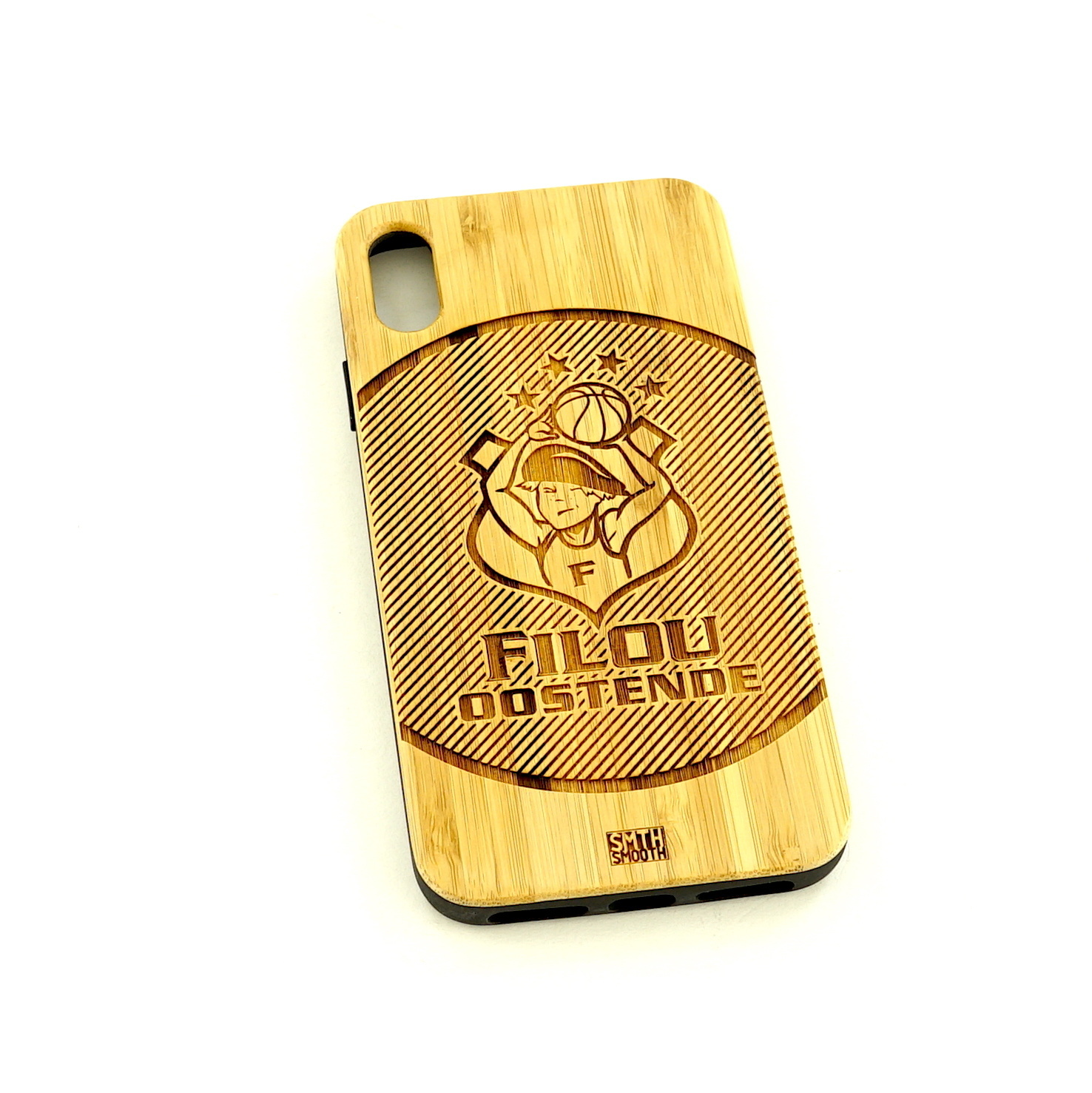 Topfanz Phone Cover light wood Filou Oostende