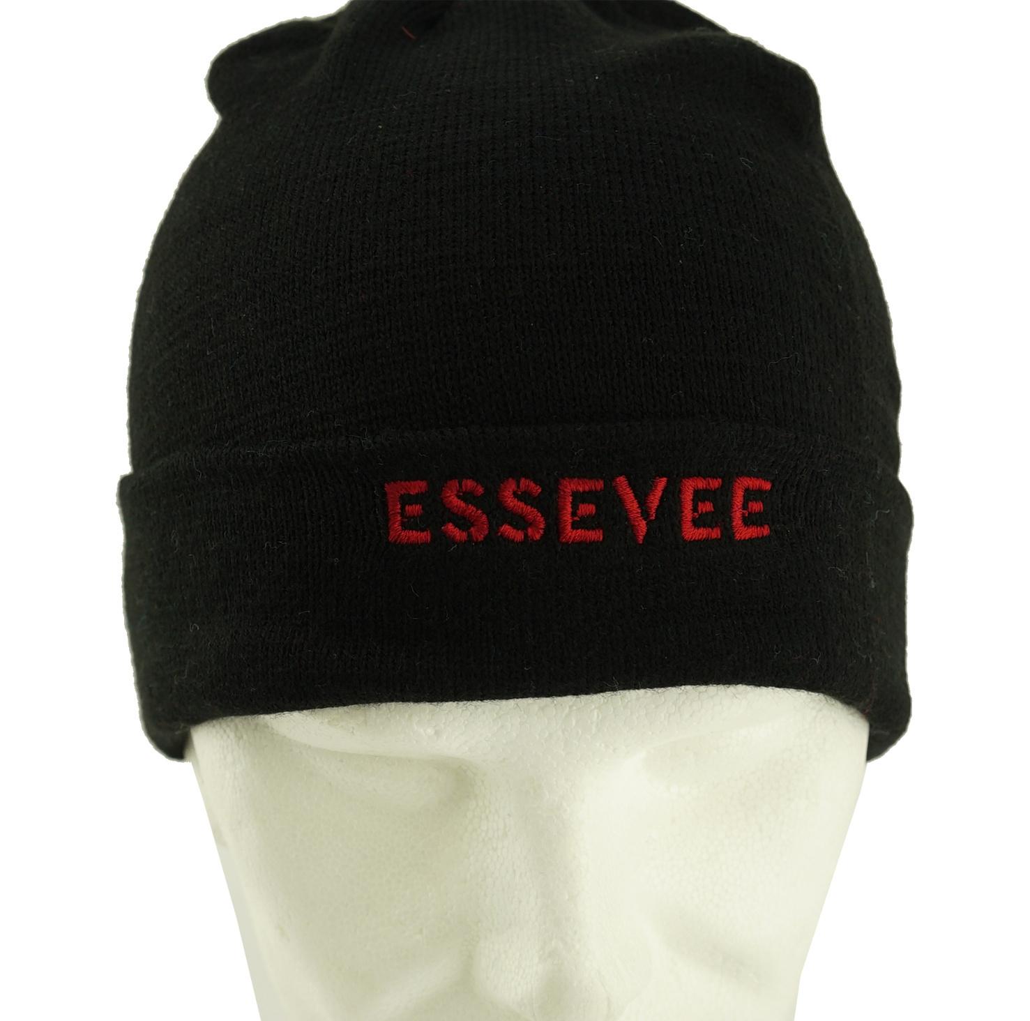 Topfanz Black beanie Essevee