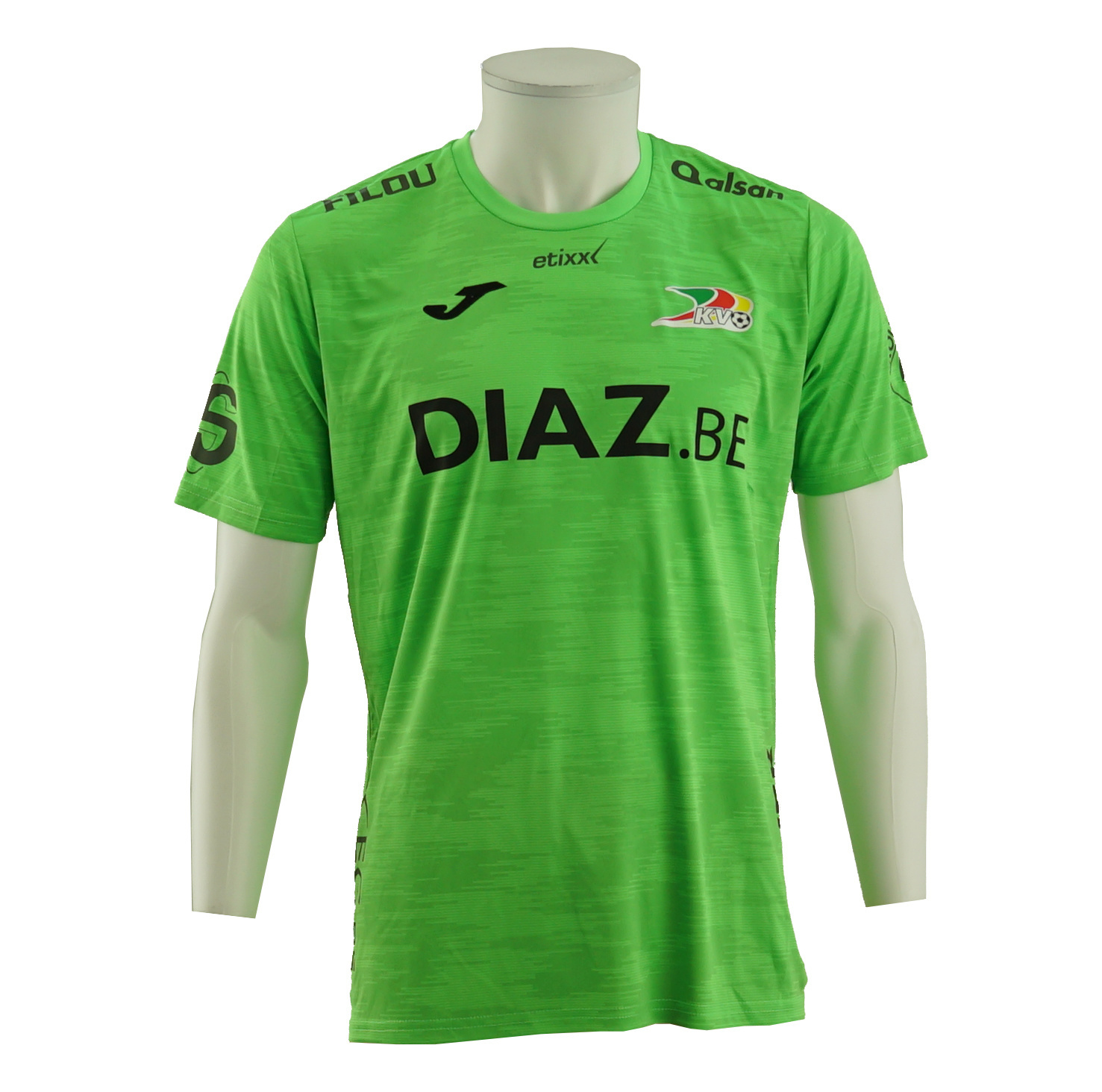Game Shirt KVO  fluo green 19/20