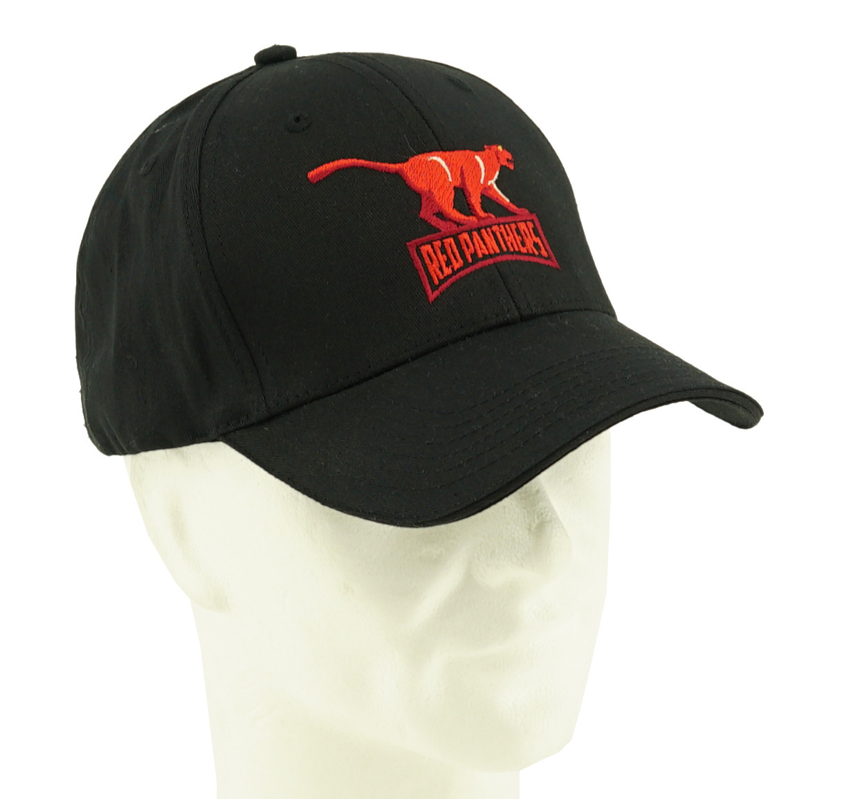 Topfanz Cap black Red Panthers