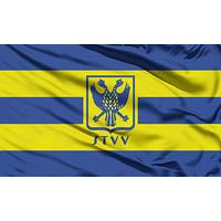 Topfanz Vlag kids geel/blauw