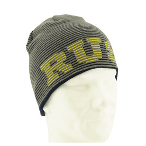Vintage beanie with relief