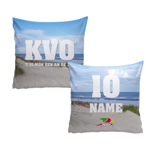 Personalised pillow - ocean view