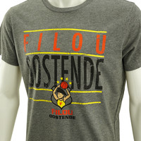 Topfanz T-shirt grey Filou Oostende