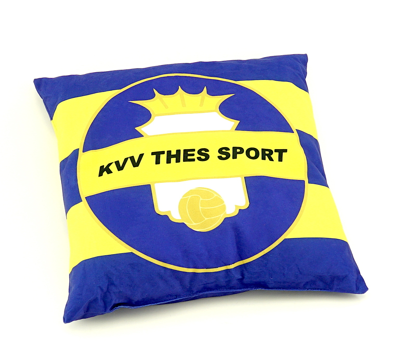 Topfanz Coussin logo/Thes We Can
