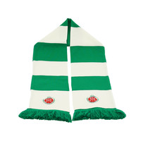 Topfanz Bar scarf green-white