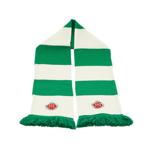 Bar scarf green-white