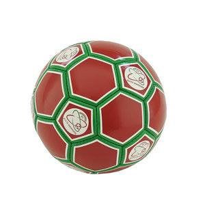 Bal rood/groen maat 5