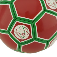 Topfanz Football red/green size 5