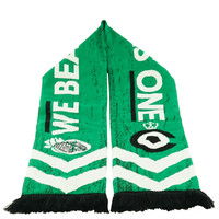 Topfanz Scarf green We beat as one