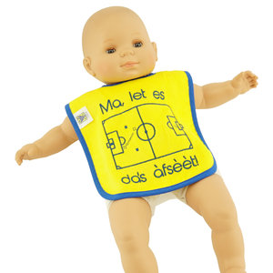 Baby bib - Ma, let is das afsèèt!