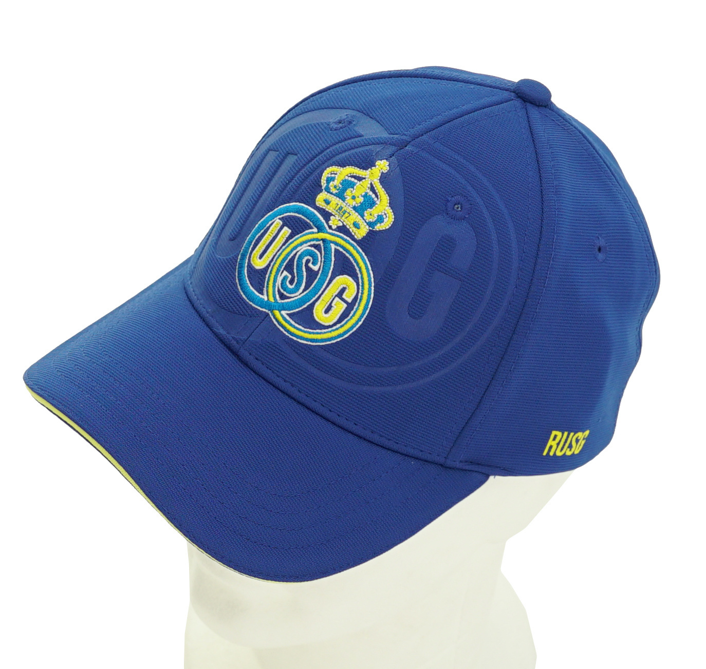 Topfanz Pet blauw embossed logo - Union