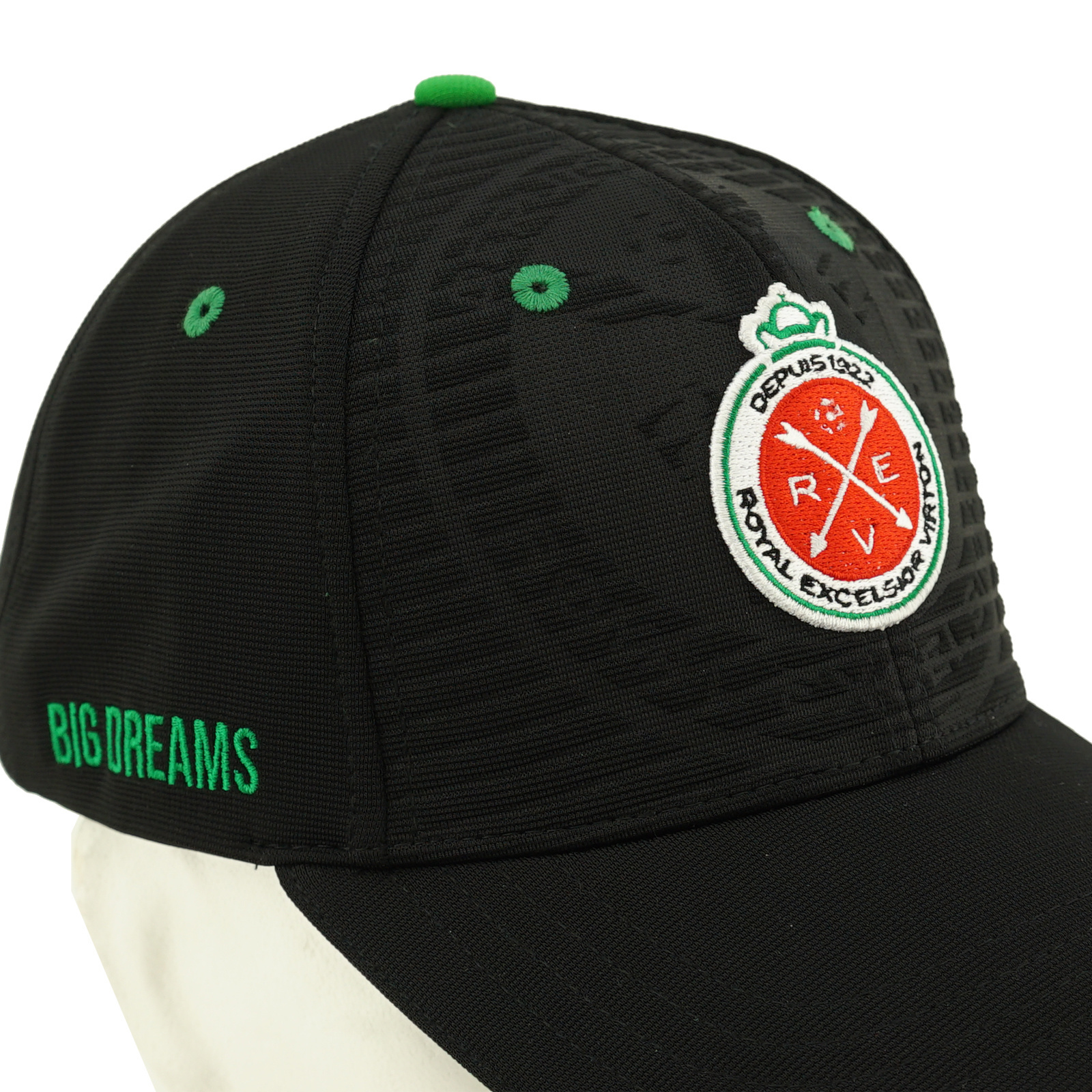 Topfanz Cap black - Small Town / Big Dreams - Virton