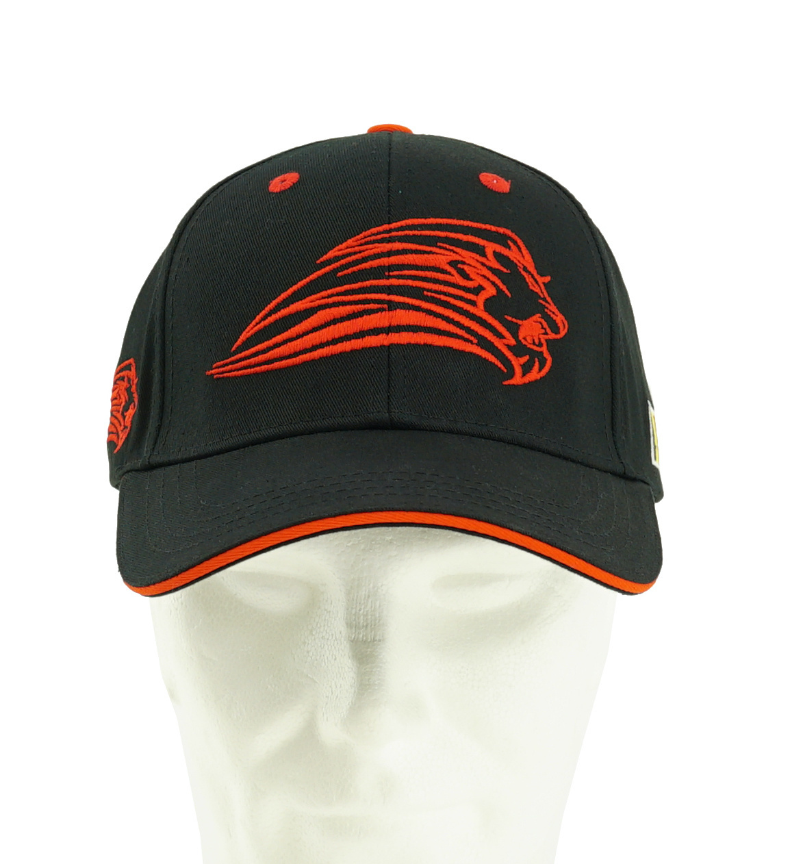 Topfanz Cap black Lion - Red Lions