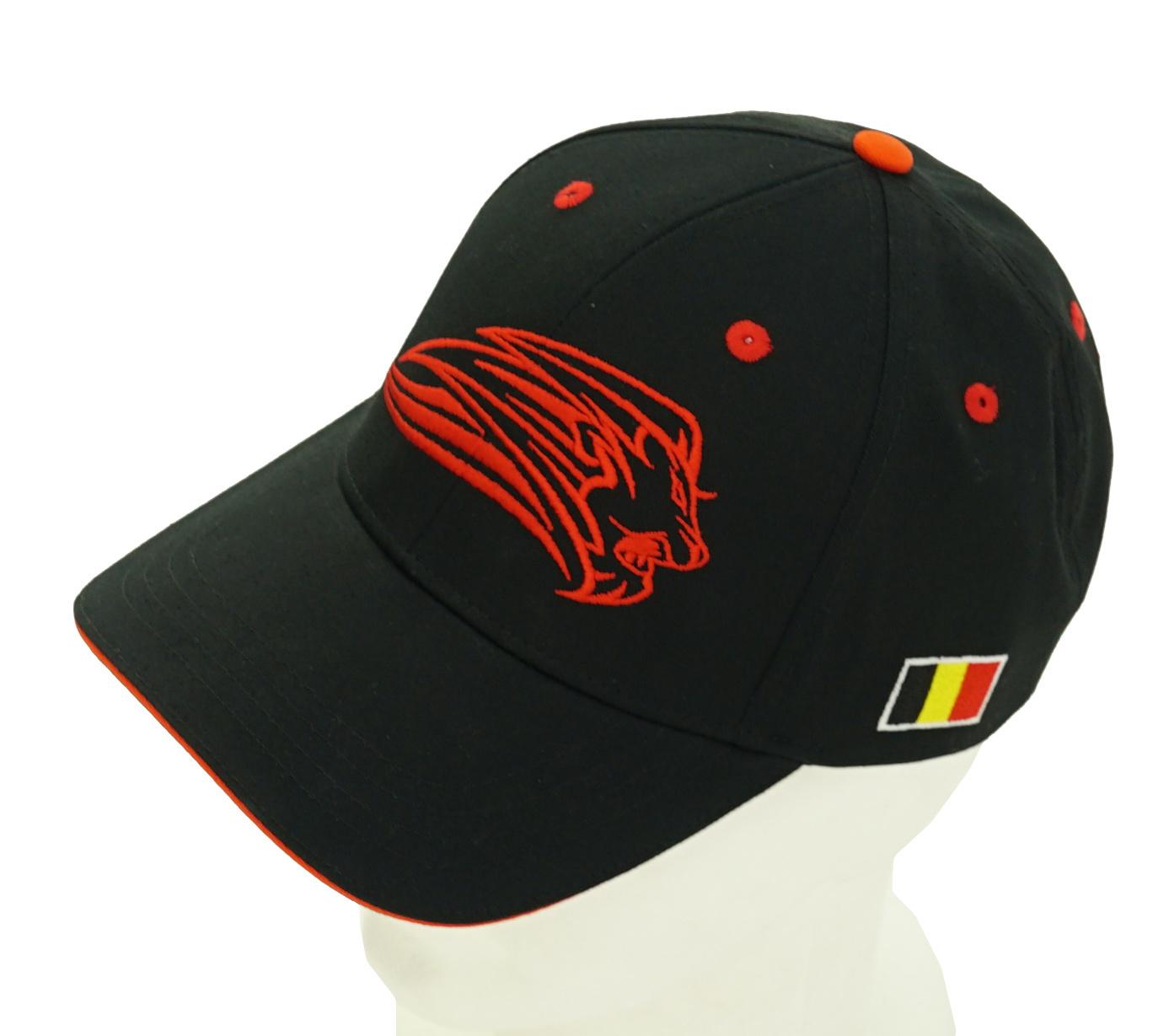 Topfanz Casquette noir Lion - Red Lions