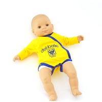 Topfanz Body wrap yellow drebberke 3-6 months