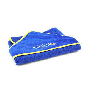 Baby hooded towel binkske
