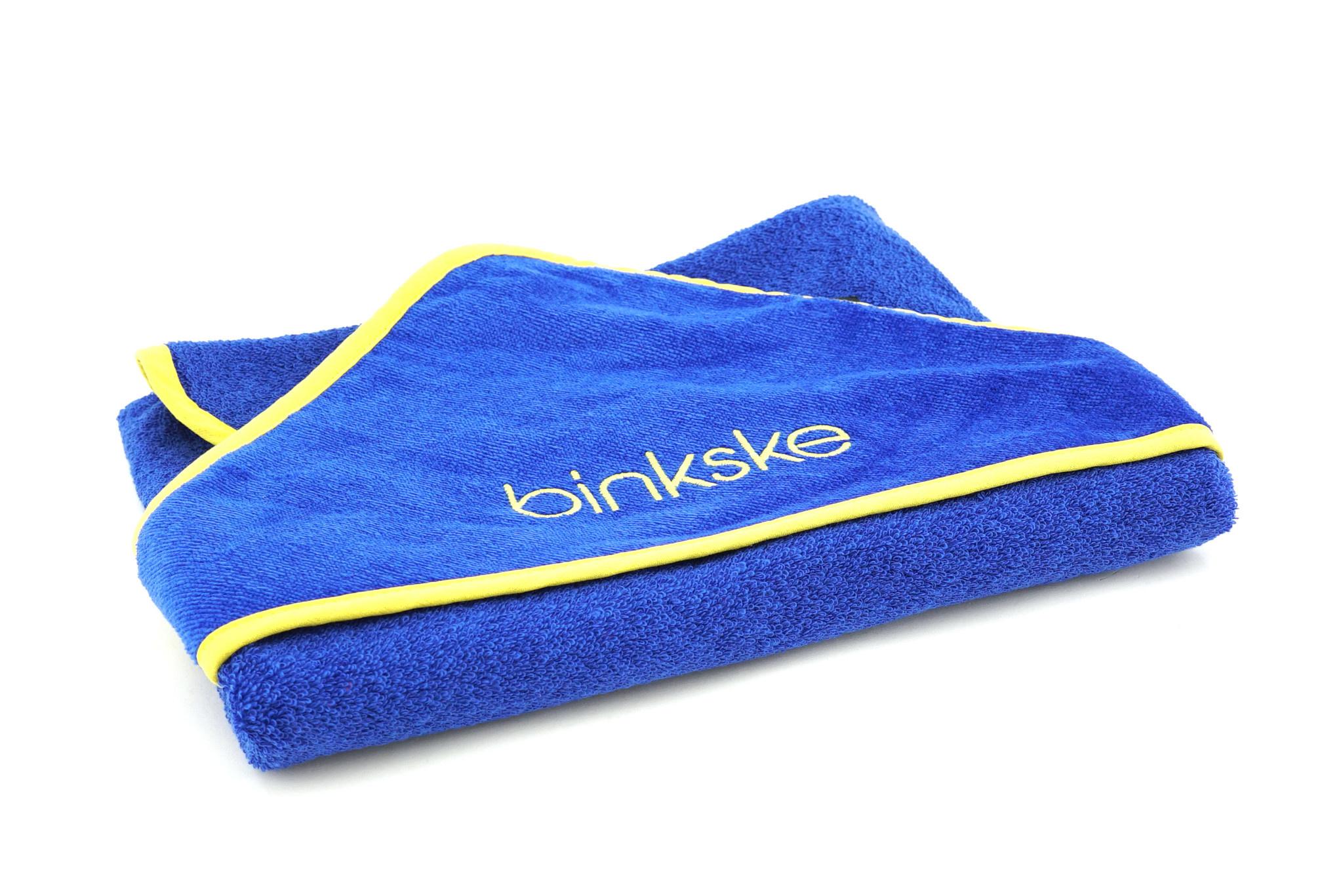 Topfanz Baby hooded towel binkske STVV