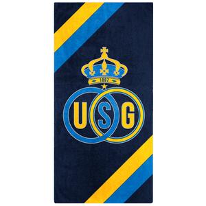 Towel logo diagonal lines