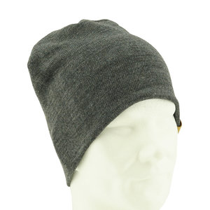 Business beanie dark grey - L
